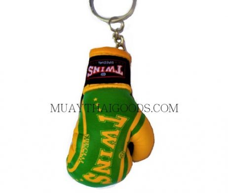 FANCY BRAZIL MGB11 KEYRINGS KEYCHAIN CAR MUAY THAI KICK BOXING GLOVES TWINS SPECIAL