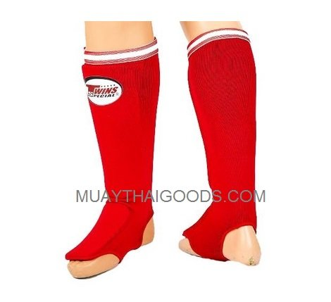 TWINS SPECIAL SGN1 ELASTIC SOCKS SHIN GUARDS PADDED FOAM  MUAY THAI BOXING