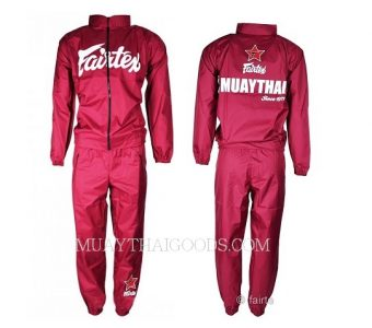 SWEATSUIT VINYL MAROON VS2 MADE BY FAIRTEX