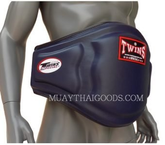 TRAINER PROTECTOR BELLY PADS NAVY BLUE LEATHER BEPL3 TWINS SPECIAL