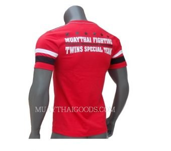 TWINS SPECIAL RED FIGHTING TSHIRT COTTON