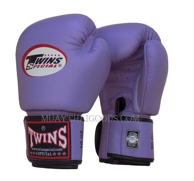 Shiv Naresh Teens Boxing Gloves 12oz: BGVL3 LAVANDER MUAY THAI KICK BOXING GLOVES TWINS SPECIAL