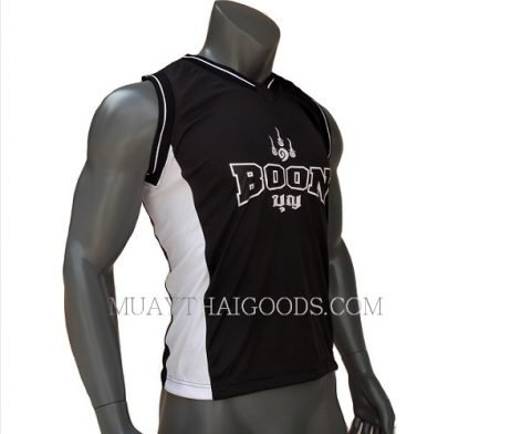 BOON BVBK SINGLET TSHIRT SLEEVELESS BLACK