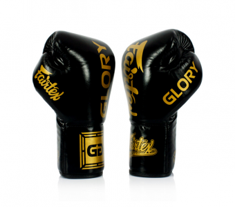 Black Fairtex Named Official Glove Provider of GLORY Kickboxing LACE UP SIDE BGV1
