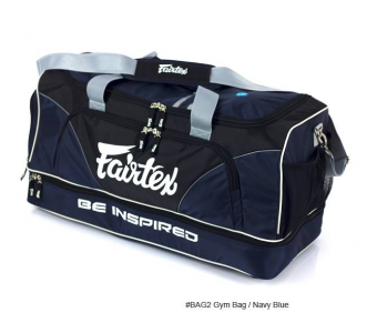 GYM BAG FAIRTEX BAG2 NAVY BLUE