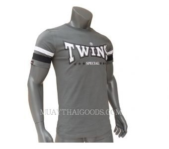 TWINS SPECIAL GREY FIGHTING TSHIRT COTTON