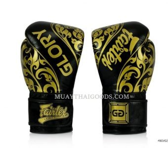 BLACK Fairtex Named Official Gloves Provider of GLORY Kickboxing BGVG2 LACE UP