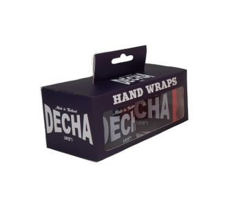 DECHA ORANGE BOXING HAND WRAPS DHW5 SEMI ELASTIC