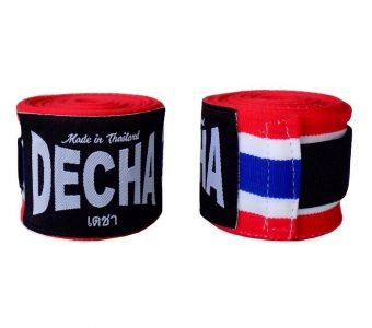 DECHA THAI FLAG BOXING HAND WRAPS bendages