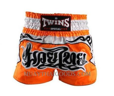 Twins Special Muay Thai Boxing Shorts Orange