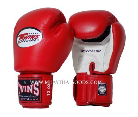 AIRFLOW TWINS SPECIAL BOXING GLOVES BGVLA RED WHITE