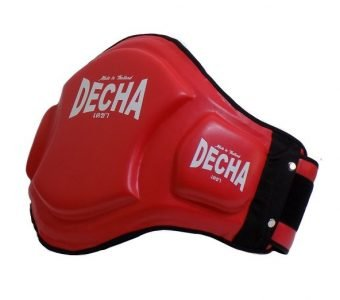 MUAY THAI BELLY PADS DBPV1 RED