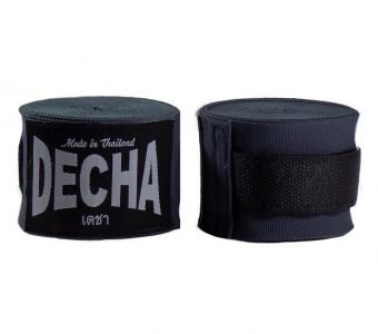 DECHA DARK GREY BOXING HAND WRAPS DHW5 SEMI ELASTIC 180″ 4.5 M