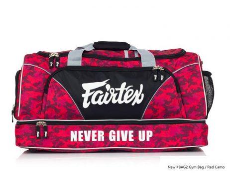 GYM BAG FAIRTEX BAG2 CAMO RED