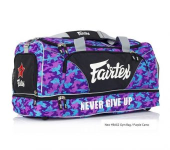 GYM BAG FAIRTEX BAG2 CAMO1