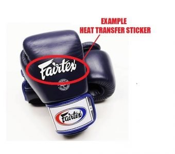 HEAT TRANSFER STICKERS