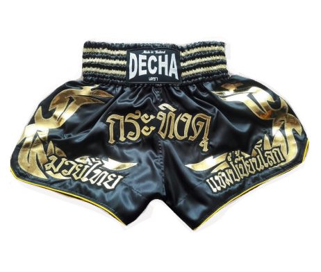 DECHA MUAY THAI SHORTS K1 MTSD3 SATIN