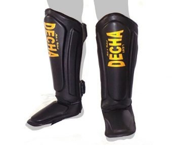 Twins fairtex Top King DECHA MUAY THAI SHIN GUARDS DSG1 DOUBLE PADDED SIDE REINFORCEMENT FULL PROTECTION