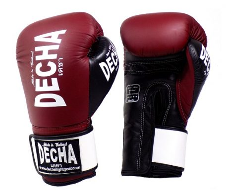 DECHA MUAY THAI STYLE BOXING GLOVES TWINS SPECIAL FAIRTEX TOPKING