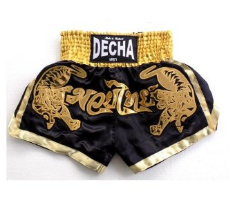 DECHA MUAY THAI BOXING SHORTS K1 MTSD10 DOUBLE TIGER