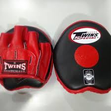 TWINS PML13 FOCUS MITTS LEATHER ( PAIR )