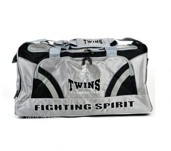 TWINS SPECIAL NYLON GYM BAG2 GRAY
