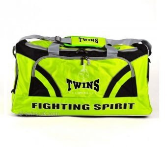 TWINS SPECIAL NYLON GYM BAG2 LIME GREEN