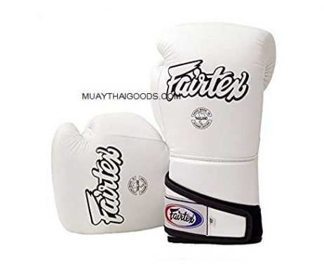 FAIRTEX BOXING GLOVES BGV6 ANGULAR SPARRING WHITE