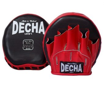 DECHA GENUINE LEATHER MINI FOCUS MITTS SPEED PRECISION PUNCH DMFL1
