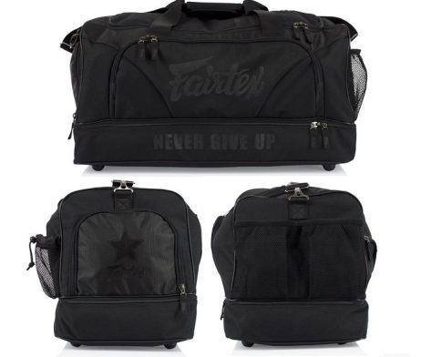 GYM BAG FAIRTEX BAG2 SUPER BLACK