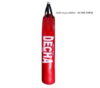 FAIRTEX TWINS NEW !! DECHA MUAY THAI BOXING PUNCHING BAG HEAVY DUTY 6ft RED ( UNFILLED ) 180 x 40 cm ULTRA THICK PROFESSIONAL USE