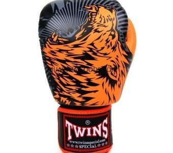 FBGV50 TWINS SPECIAL BOXING GLOVES WOLF ORANGE