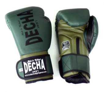 DECHA MUAY THAI KICK BOXING MMA GLOVES
