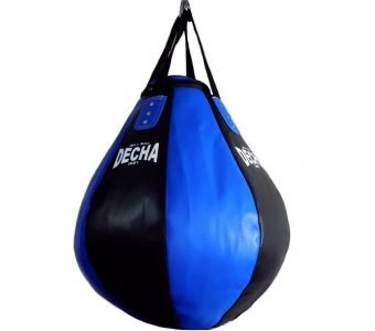 DECHA PRO TEAR DROP HEAVY PUNCHING BAG DHB10 BLACKBLUE