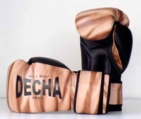 DECHA LEATHER MUAY THAI BOXING GLOVES TIGHT FIT DBGVL1 PRO PERFORMANCE 3.0 FUSION 2 LIMITED EDITION